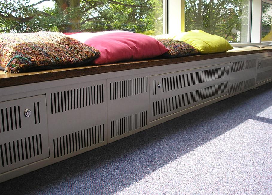 custom designed floor ducting
