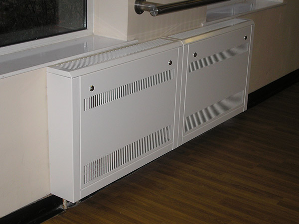 radiator guards used in commercial settings